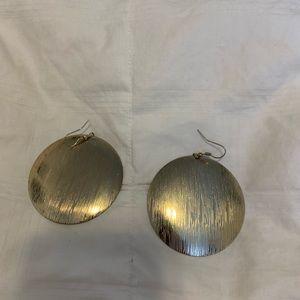 Accessories - Gold metallic earrings